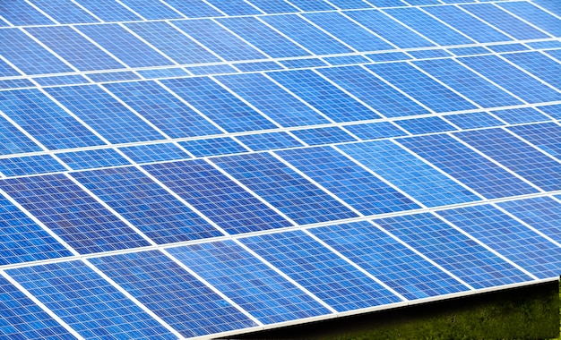 Ferme de cellules solaires pour l'énergie verte