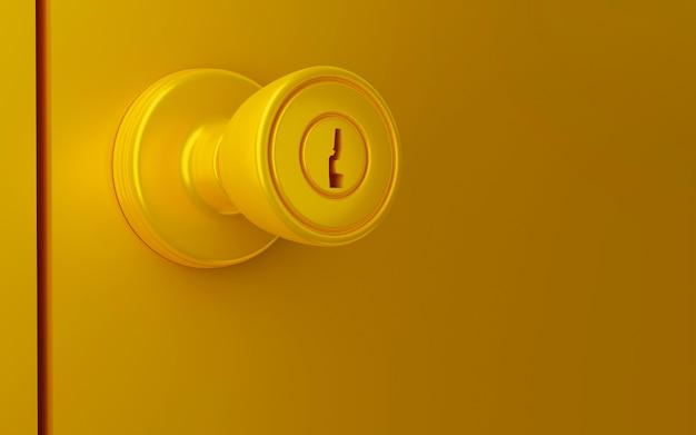 Fermer le bouton de la porte