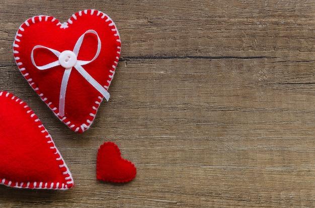 Fermer le cœur senti. la saint valentin. je t'aime concept