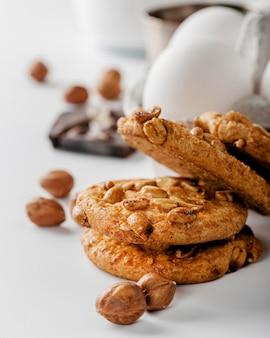 Fermer les cookies aux noix