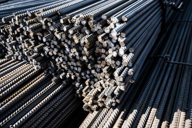 Ferrures en fer dans les barres pour la construction