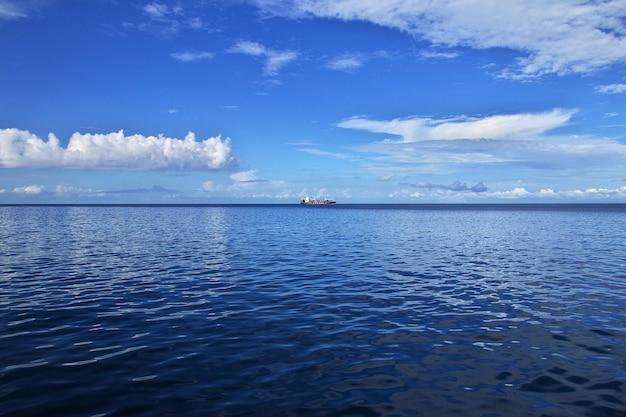 Le ferry pour zanzibar, tanzanie