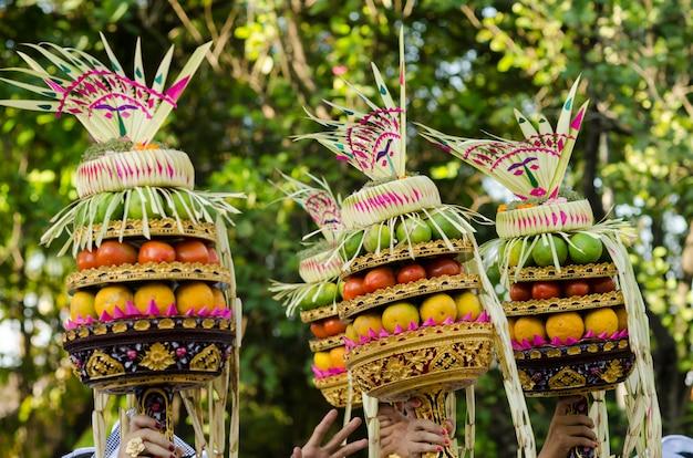 Festival balinais de danse en indonésie