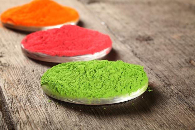 Festival des couleurs indiennes holi