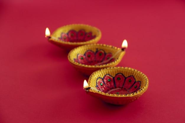 Festival indien diwali, lampe