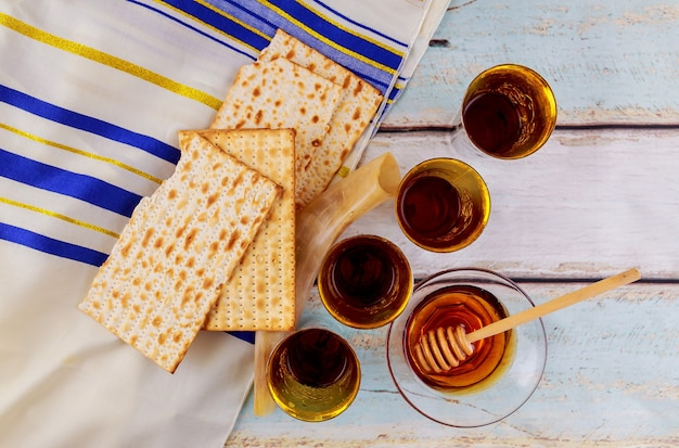 Fête juive de la pâque juive pain azyme fête des azymes célébration