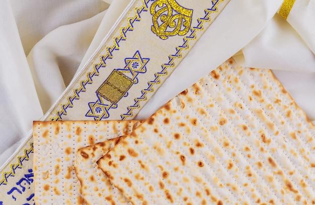 Fête juive pesah pâque avec matza