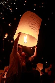 Fête des lanternes en thaïlande
