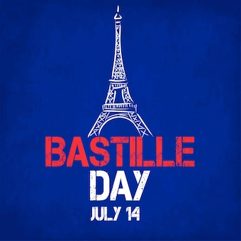 Fête nationale française. joyeux bastille