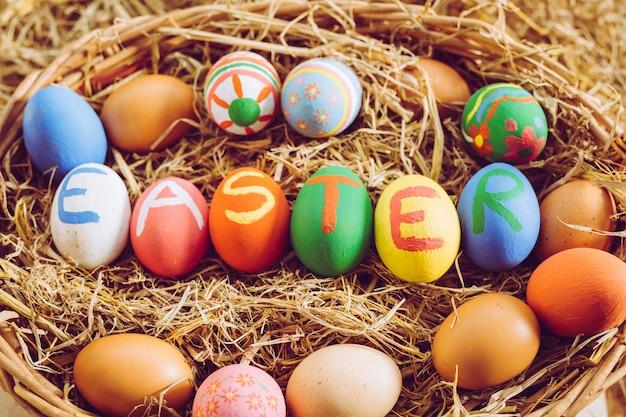Fête des œufs de pâques.
