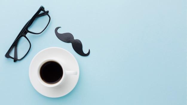 Fête des pères avec tasse de café