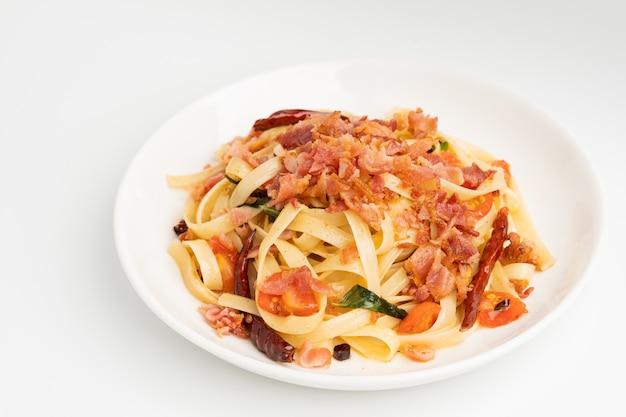 Fettuccine aglio e olio