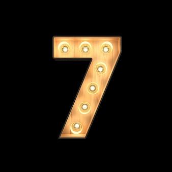 Feu de balisage numéro 7