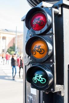 Feu de circulation pour cyclistes