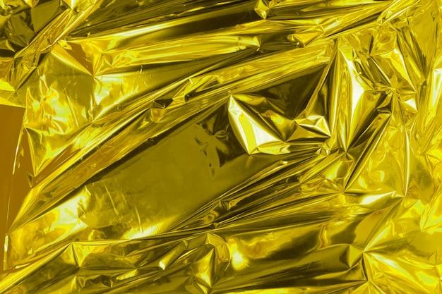 Feuille abstraite froissée. photo grunge. couleur éclairante de l'année 2021