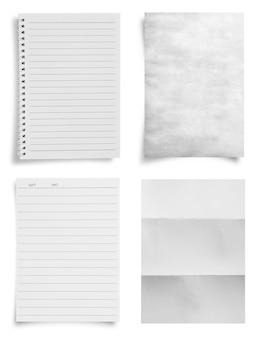 Feuille de fond de texture de papier avec espace de copie pour le texte