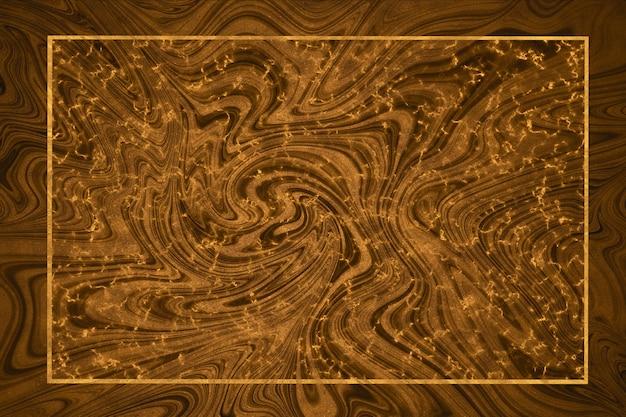 Feuille de marbre or minéral et ligne dorée et fond de luxe de frontière