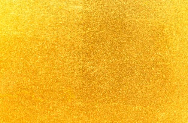 Feuille d'or jaune brillant