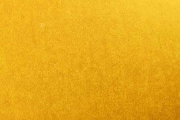 Feuille vierge de carton d'or