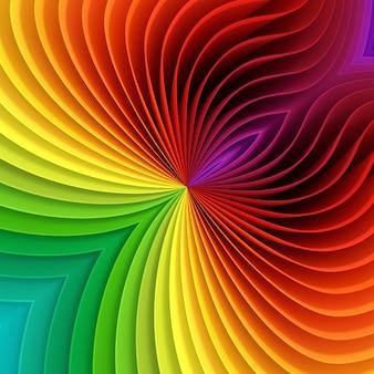 Feuilles de plastique colorées de différentes couleurs