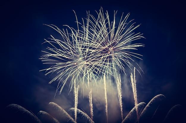 Des feux d'artifice