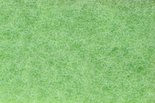 Fibres de plastique vert fond de texture.