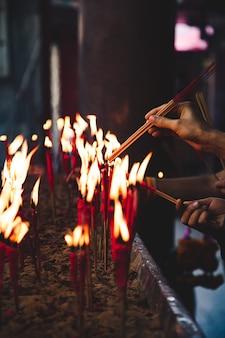 Fidèle au bouddhisme