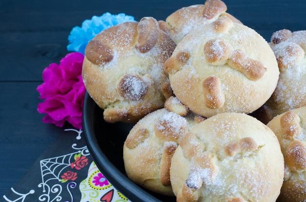 Fiesta mexicana, pain de la mort.