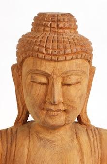 Figure de bouddha se bouchent