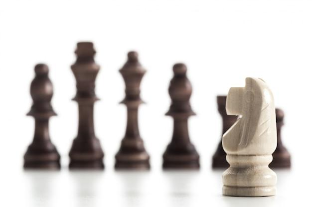 Figure d'échecs isolée