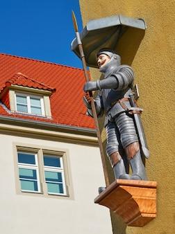 Figure géante de riese à nordhausen harz en allemagne