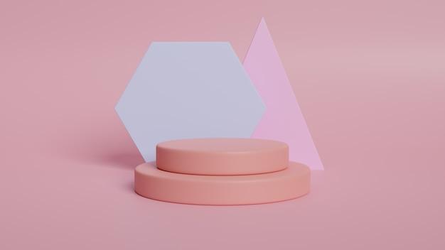 Figures géométriques abstraites minimalistes