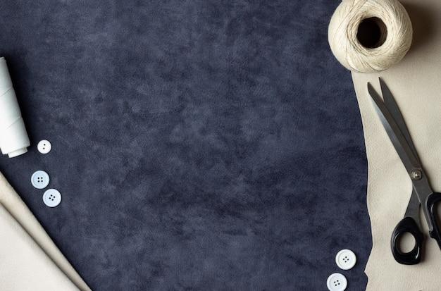 Fil, ciseaux et tissu