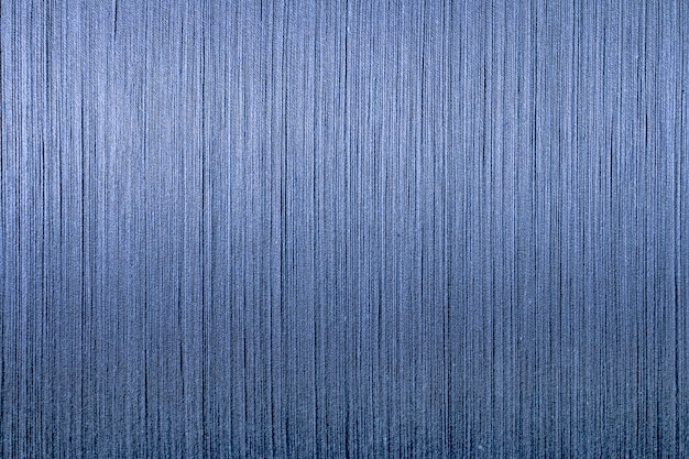 Fil de coton bleu de machine à tisser, fond tissé de fil teint indigo,