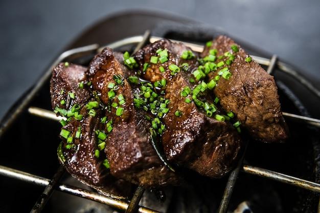 Filet de boeuf steak grillé