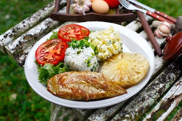 Filet de poulet aux œillets