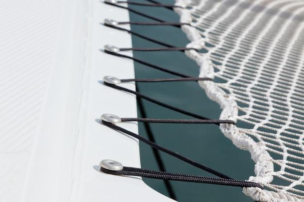 Filet de sécurité pour yacht bouchent