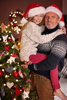 La fille est le plus grand bonheur du père