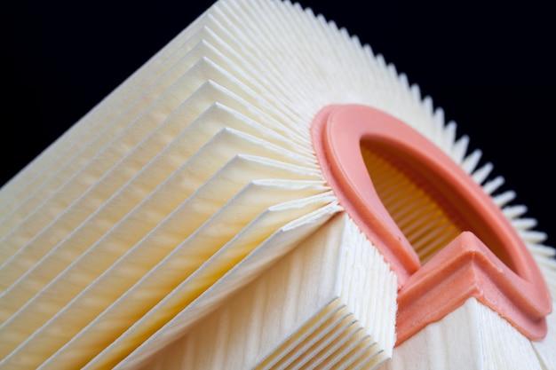 Le filtre est propre et n'a pas été utilisé, nouveau filtre en papier pour la purification de l'air