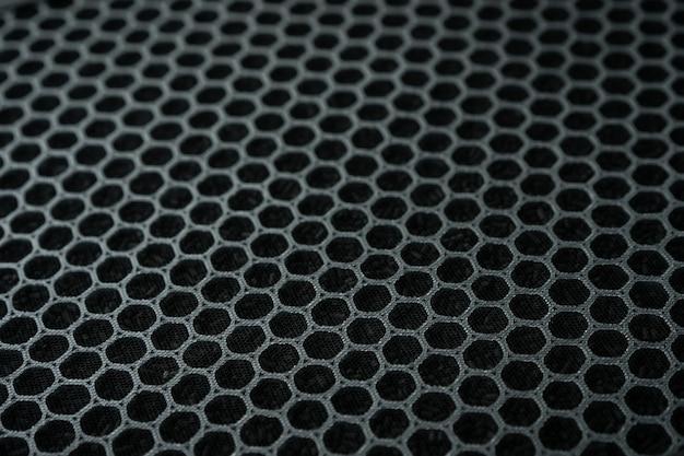 Filtre purificateur d'air au charbon hepa en gros plan, filtre de remplacement pour purificateur d'air.
