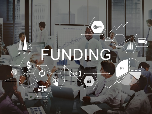 Financement investir concept de budget financier