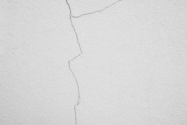 Fissure superficielle du ciment