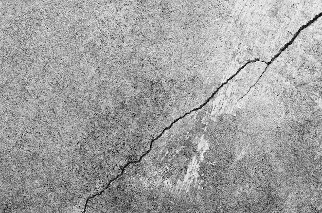 Fissures, ruptures, dégâts