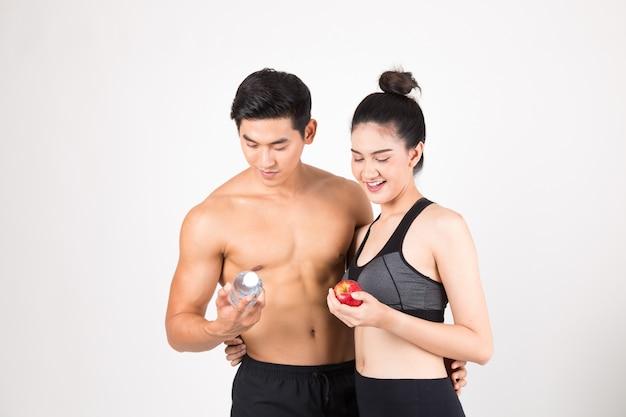 Fitness et concept de mode de vie sain
