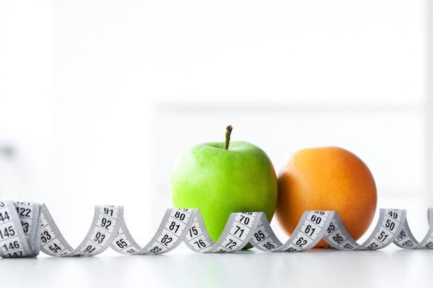 Fitness et concept de régime alimentaire des aliments sains.