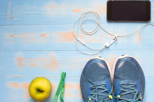 Fitness, régimes amaigrissants, concept de modes de vie et de vie sains