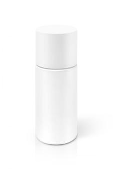 Flacon de sérum cosmétique isolé