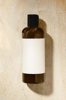 Flacon de shampoing, produit de beauté