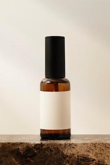 Flacon vaporisateur d'huiles essentielles, produit de beauté aromatique