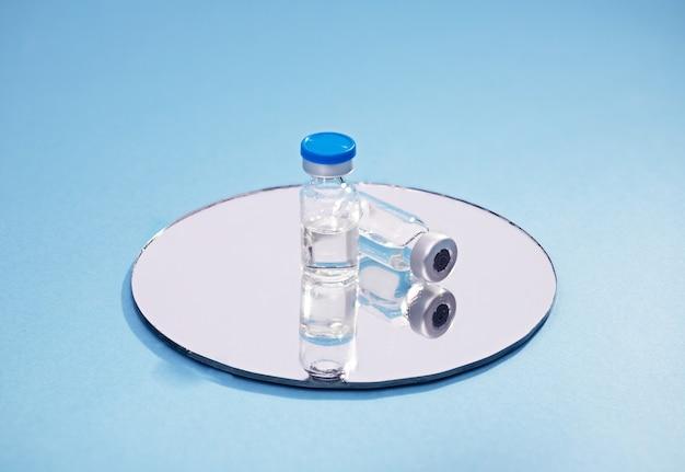 Flacons de médicaments et de vaccins